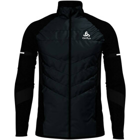 Odlo Irbis X-Warm Hybrid Jacket Seamless Men black-odlo silver grey